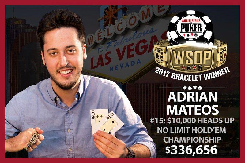 Winner of the 2017 world series of poker golden nugget nj online gambling