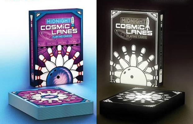 carte cosmic lane fluorescenti