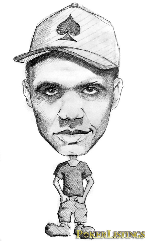 caricatura phil ivey