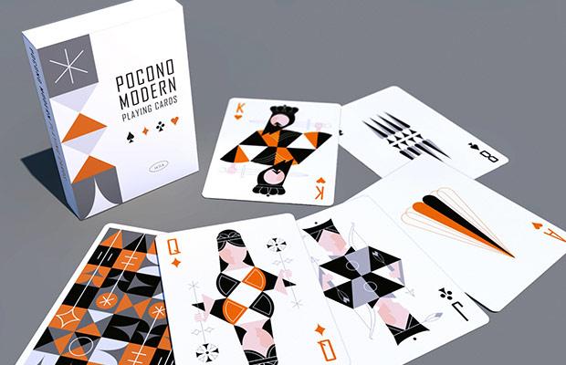pokono modern carte da gioco