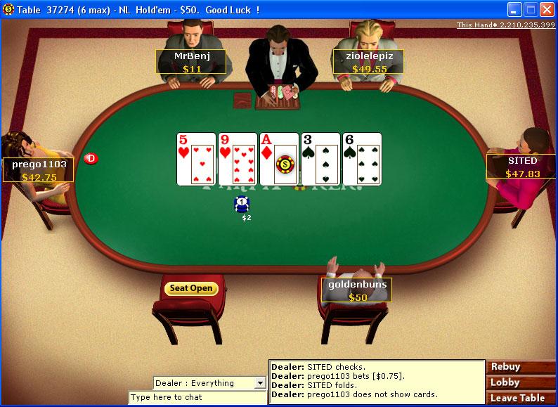 Pogo texas holdem no limit poker