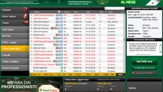Sisal Poker Le Lobby