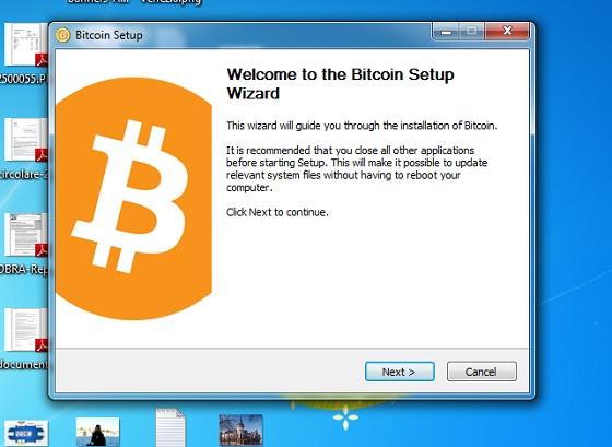 bitcoin installa