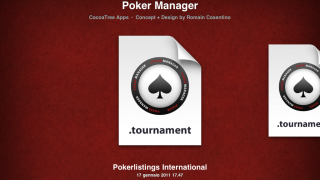 Poker Manager ipad 1