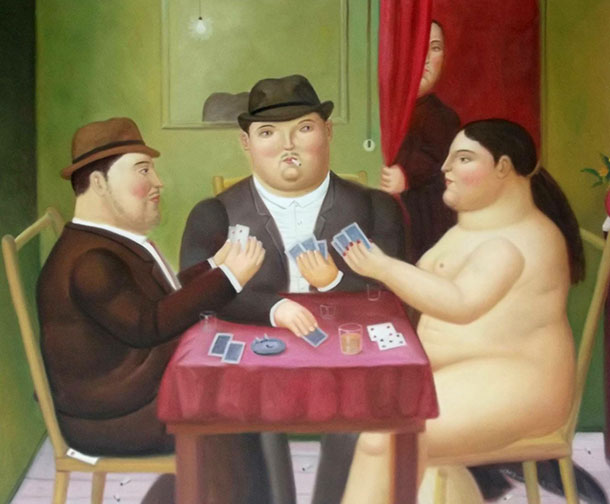 Botero - giocatori di carte
