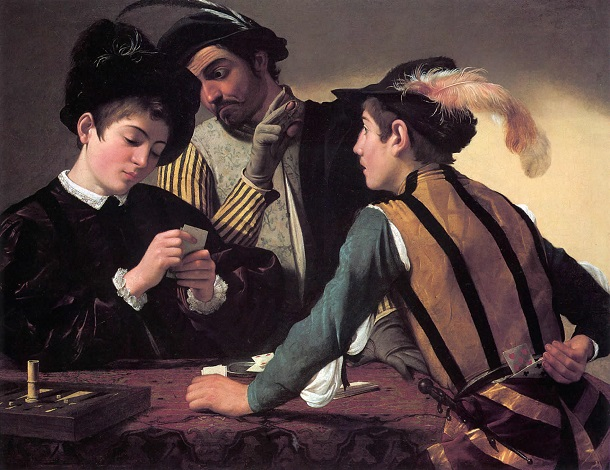 I bari - Caravaggio