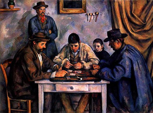 Cezanne- Giocatori di carte