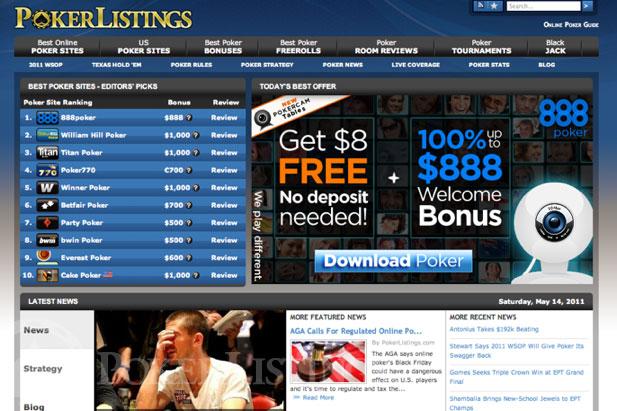 Storia Pokerlistings