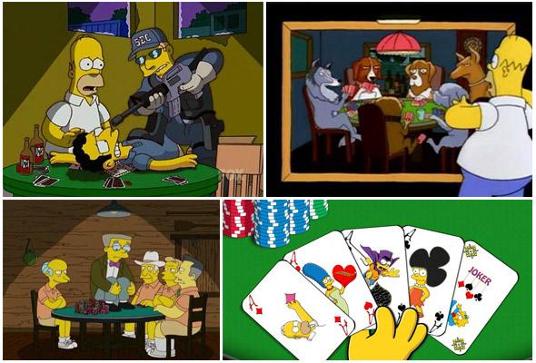 Homer e il poker
