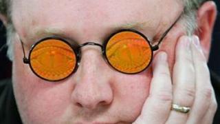 Greg Raymer occhiali
