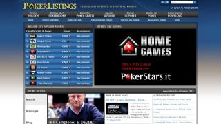 Homepage Pokerlistings.it