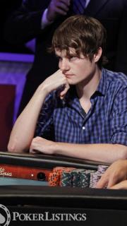 Jake Balsiger 2012 WSOP October Nine