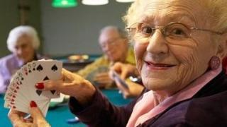 old lady poker