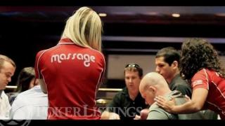 poker massage girl