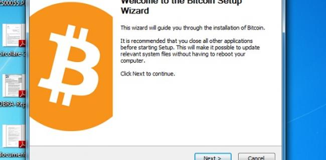 Bitcoin step 1