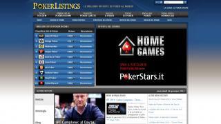 Homepage Pokerlistings.it