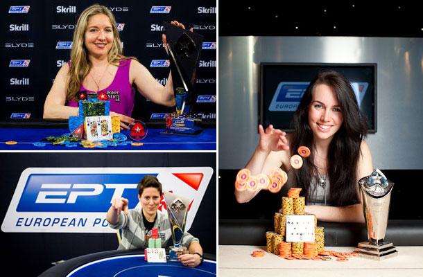 le migliori giocatrici di poker