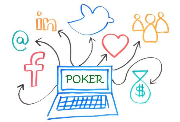 poker e social