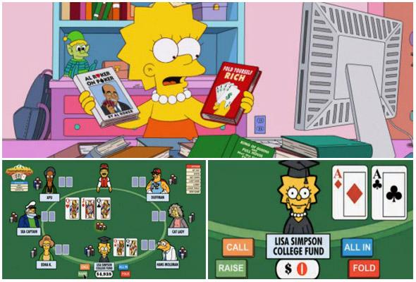 Lisa e il poker