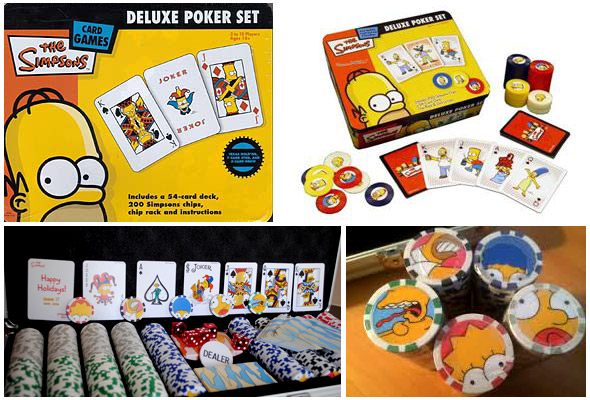 poker set dei simpsons